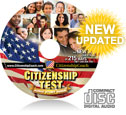 Official Citizenship Test CD with 215 ways the questions are asked in the naturalization exam